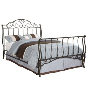Croftshire Sleigh Bed by Alcott Hill