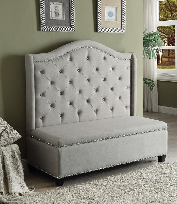 ACME Furniture Fairly Upholstered Storage Bench Reviews