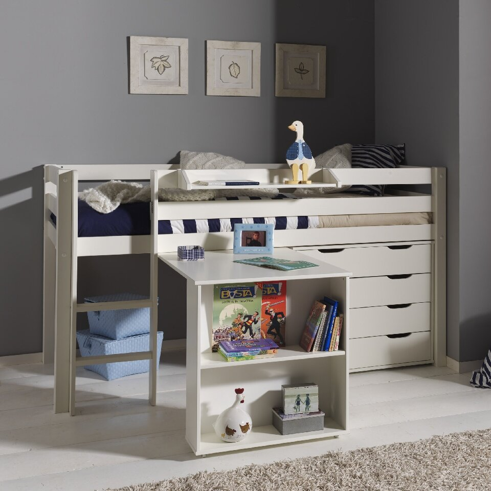 Bedden Voor Kids.Children Kids Bunk Bed Midsleeper Furniture Wardrobe Sideboard