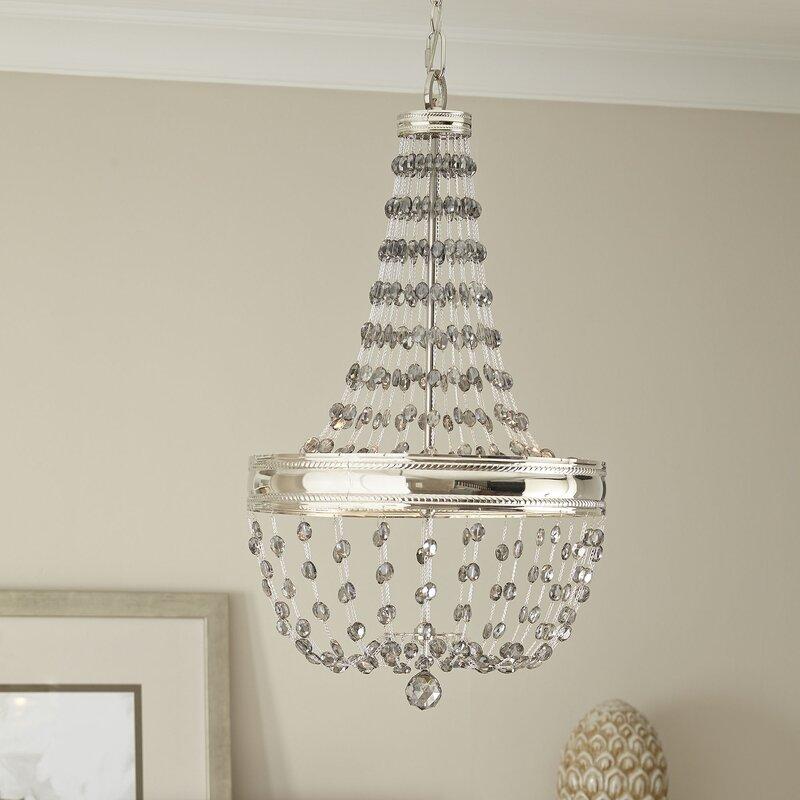 Porter 3 light empire chandelier reviews birch lane porter 3 light empire chandelier aloadofball Gallery