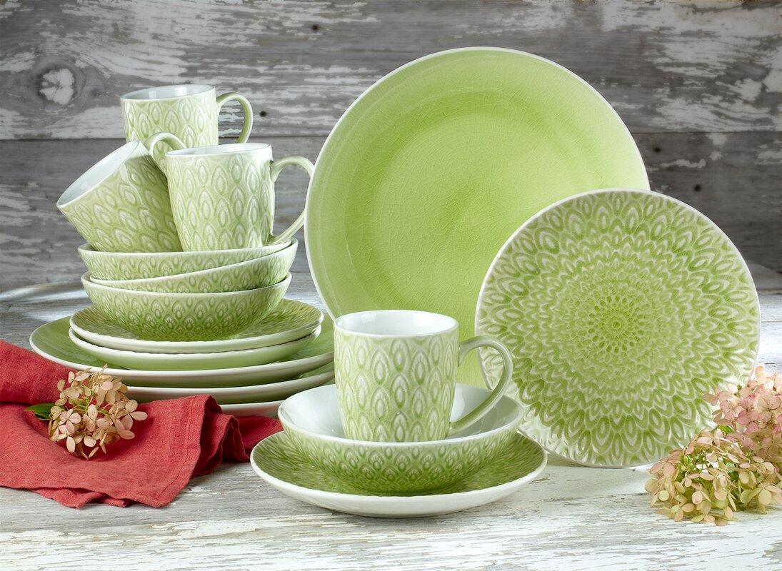 living colors dinnerware set southern living dining hosting & Living Colors 16 Piece Dinnerware Set. amazon com gibson home 97694 ...