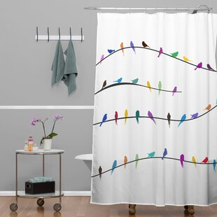 Ketner Hy Spring Shower Curtain