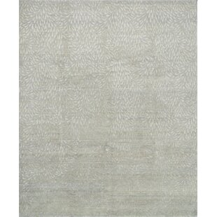 Compare Bandhe Hand-Knotted Mist/Pewter Area Rug ByWinston Porter