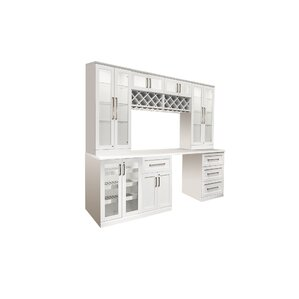 8 Piece Shaker Style Home Bar