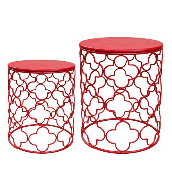 Set Of 2 Side Tables | Wayfair