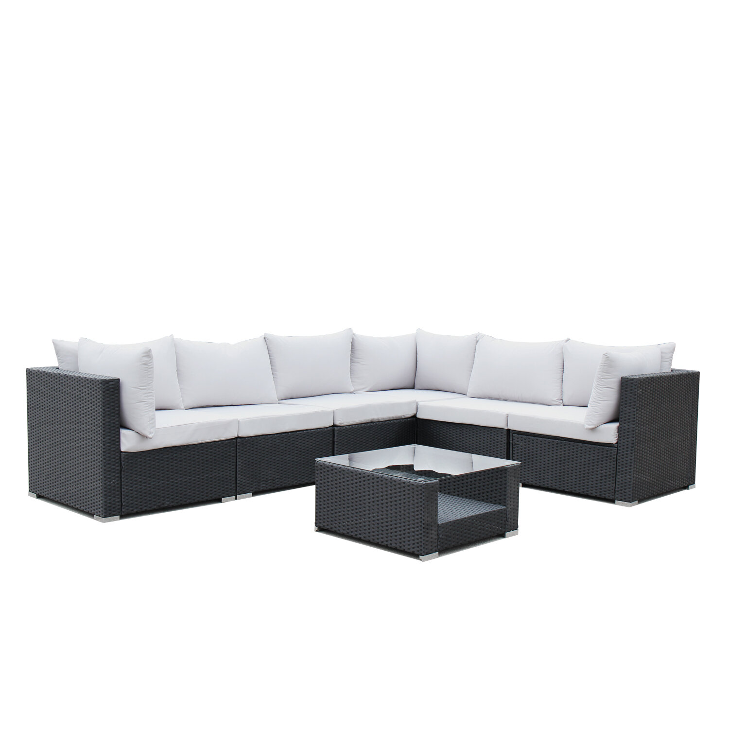 Lecroy 7 Piece Sectional Set with Cushions & Reviews | Joss ...
