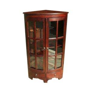 dark brown corner cabinet wayfair rh wayfair com dark wood corner cabinet with wine rack black wood corner cabinet