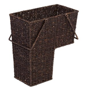 Delicieux Wicker Storage Stair Basket With Handles