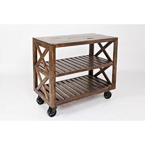 Ailey Rectangular Bar Cart by Gracie Oaks