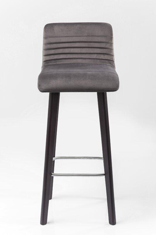 Kare design barhocker lara for Graue barhocker