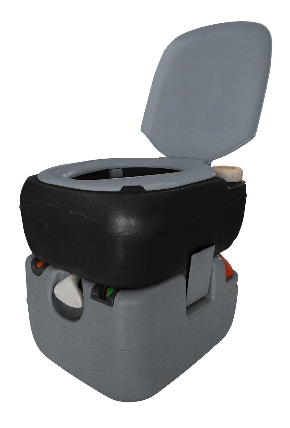 Reliance Portable Electric Flush 3 GPF Round One-Piece Toilet ...