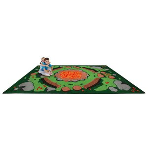 Campfire Playtime Kids Area Rug