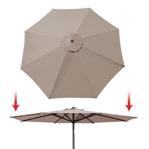 Tierra Umbrella Canopy Rib Patio Top Outdoor Replacement Cover