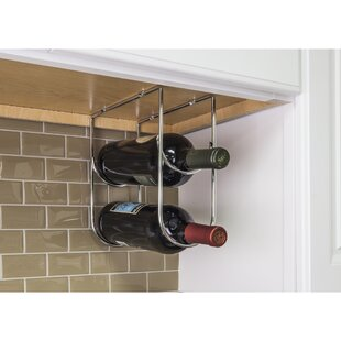 Under Cabinet Wine Bottle Rack Wayfair