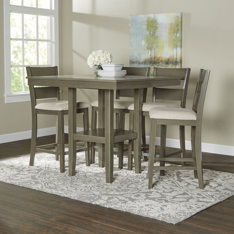 Beautiful 5 piece dining room sets contemporary for R way dining room furniture
