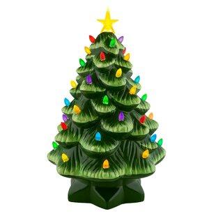 nostalgic christmas tabletop tree