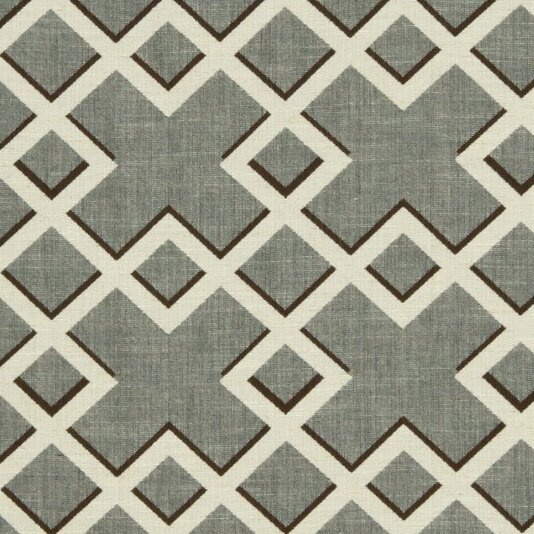 Trellis Fabric dwellstudio shadow trellis fabric - toffee | dwellstudio