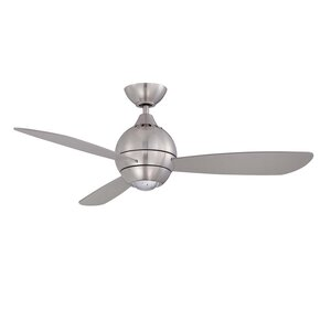 """44"""" Sphere 2 3 Blade LED Ceiling Fan with Remote"""