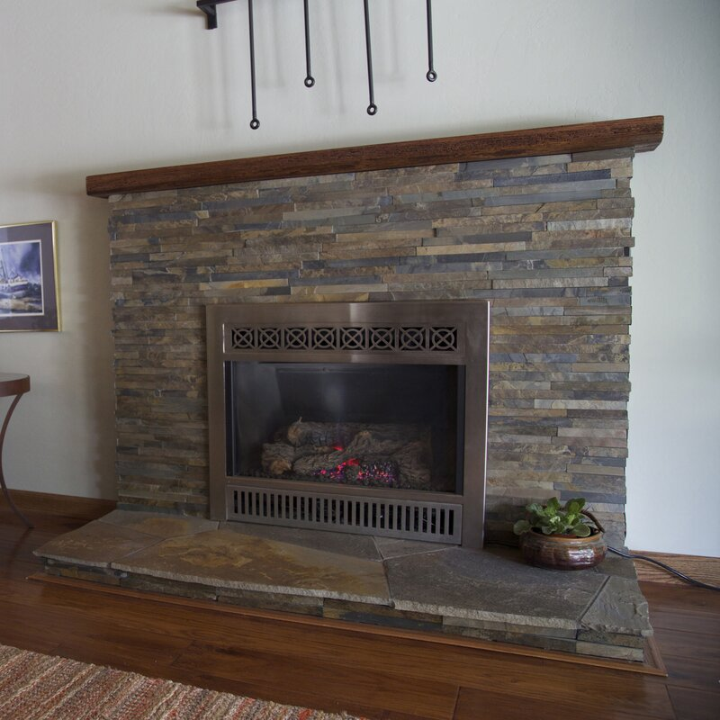slate tile fireplace surround. Fireplace Surround Tiles  The Tile Home Guide