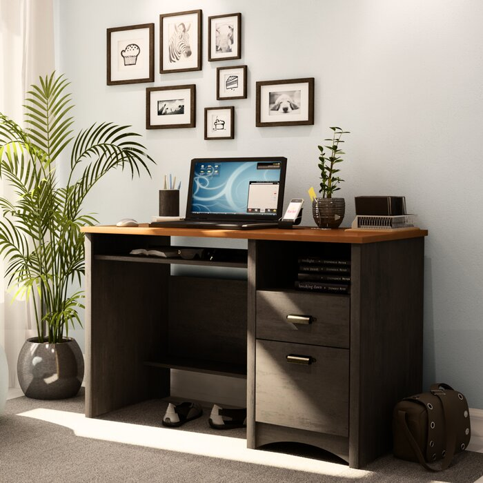 desk furnishing home room with furniture desks wayfair computer decor