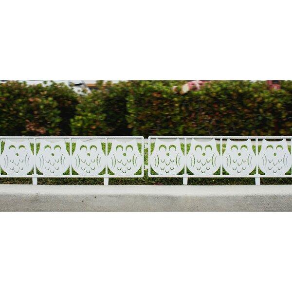 Outdoor White Fence   Wayfair