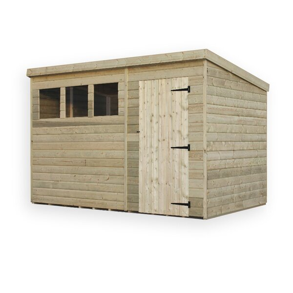 empire sheds ltd x wooden garden shed reviews wayfair co uk - Garden Sheds 10 X 5