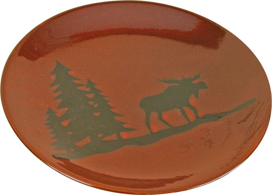 Woodland Moose 8.25\  Salad Plate  sc 1 st  Wayfair & DEI Woodland Moose 8.25\