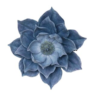 Decorative Resins Lotus Wall Flower Wall Décor