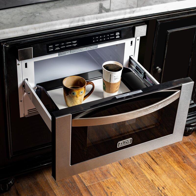 Zline Kitchen And Bath 24 Quot 1 2 Cu Ft Microwave Drawer