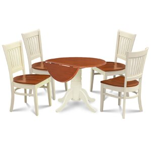 Thornhill 5 Piece Drop Leaf Dining Set by Alcott..