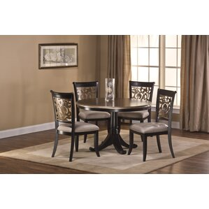 Chuckanut 5 Piece Dining Table Set by Fle..