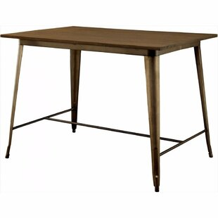 Moris Counter Height Solid Wood Dining Table