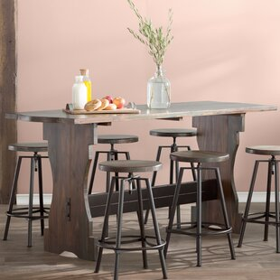 Ordinaire Connery 7 Piece Counter Height Pub Table Set