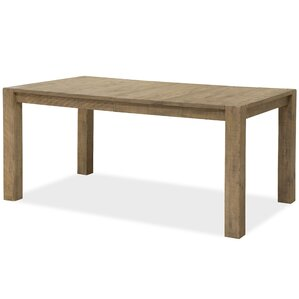 Bjoern Wood Dining Table by 17 Stories