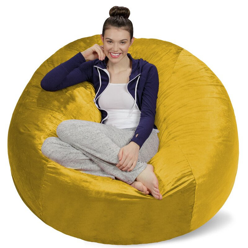 Latitude Run Bean Bag Sofa Reviews Wayfair