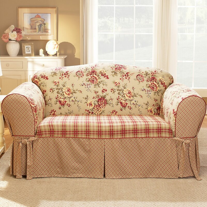 lexington box cushion loveseat slipcover