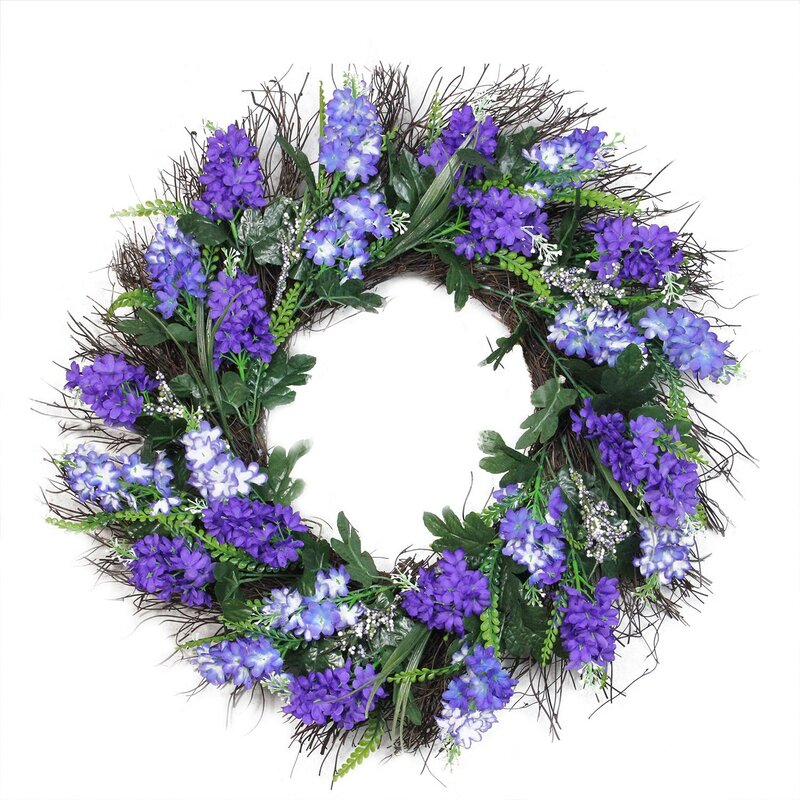 Spring 22 shades of artificial lilac and heather floral wreath spring 22 shades of artificial lilac and heather floral wreath mightylinksfo