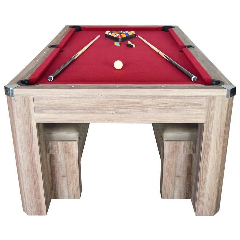 Newport 2 Piece 7u0027 Pool Table Set