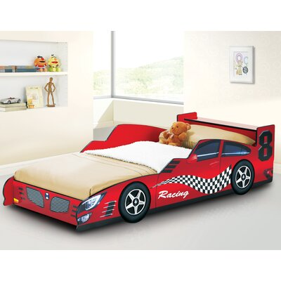 twin racing car bed