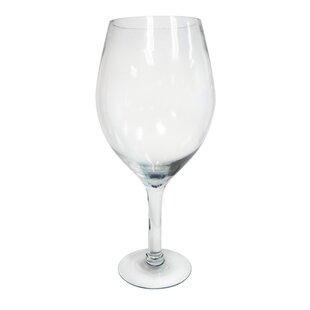 Large Decorative Wine Glass  sc 1 st  Wayfair & Large Decorative Glass Plates | Wayfair