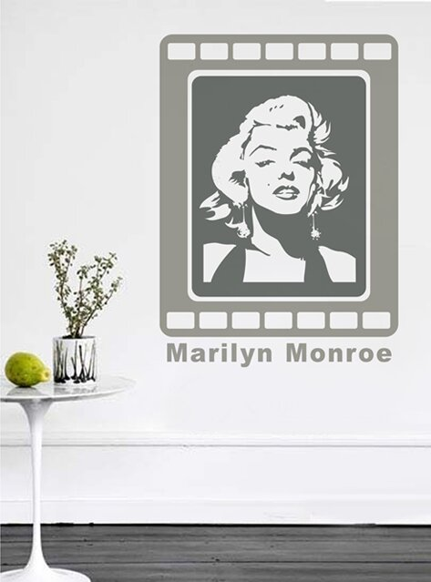 Marilyn Monroe Wall Mural Part 32