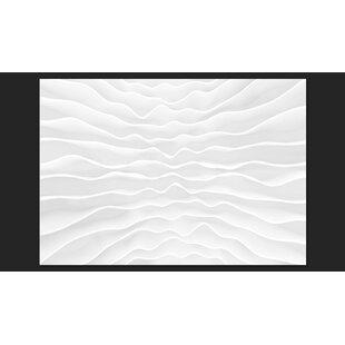Origami Wall 245cm x 350cm Wallpaper by Artgeist