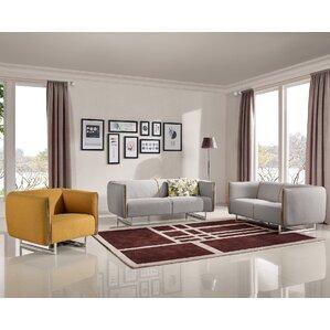 three piece living room set. Alivia 3 Piece Living Room Set Modern Sets  AllModern