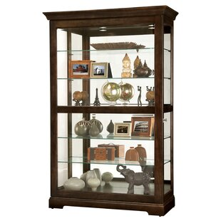 Bracy Lighted Curio Cabinet