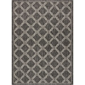 Cochrane Charcoal Indoor/Outdoor Area Rug