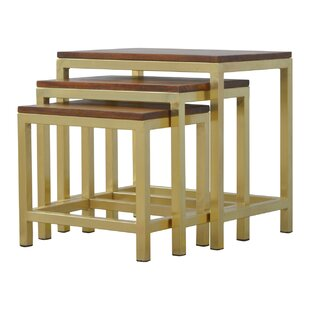Arie 3 Piece Stool Set by Laurel Foundry