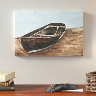 U0027Canoe Painting Lake Houseu0027 Acrylic Painting Print On Canvas