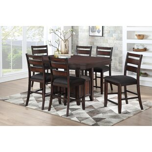 Campo 7 Piece Pub Table Set