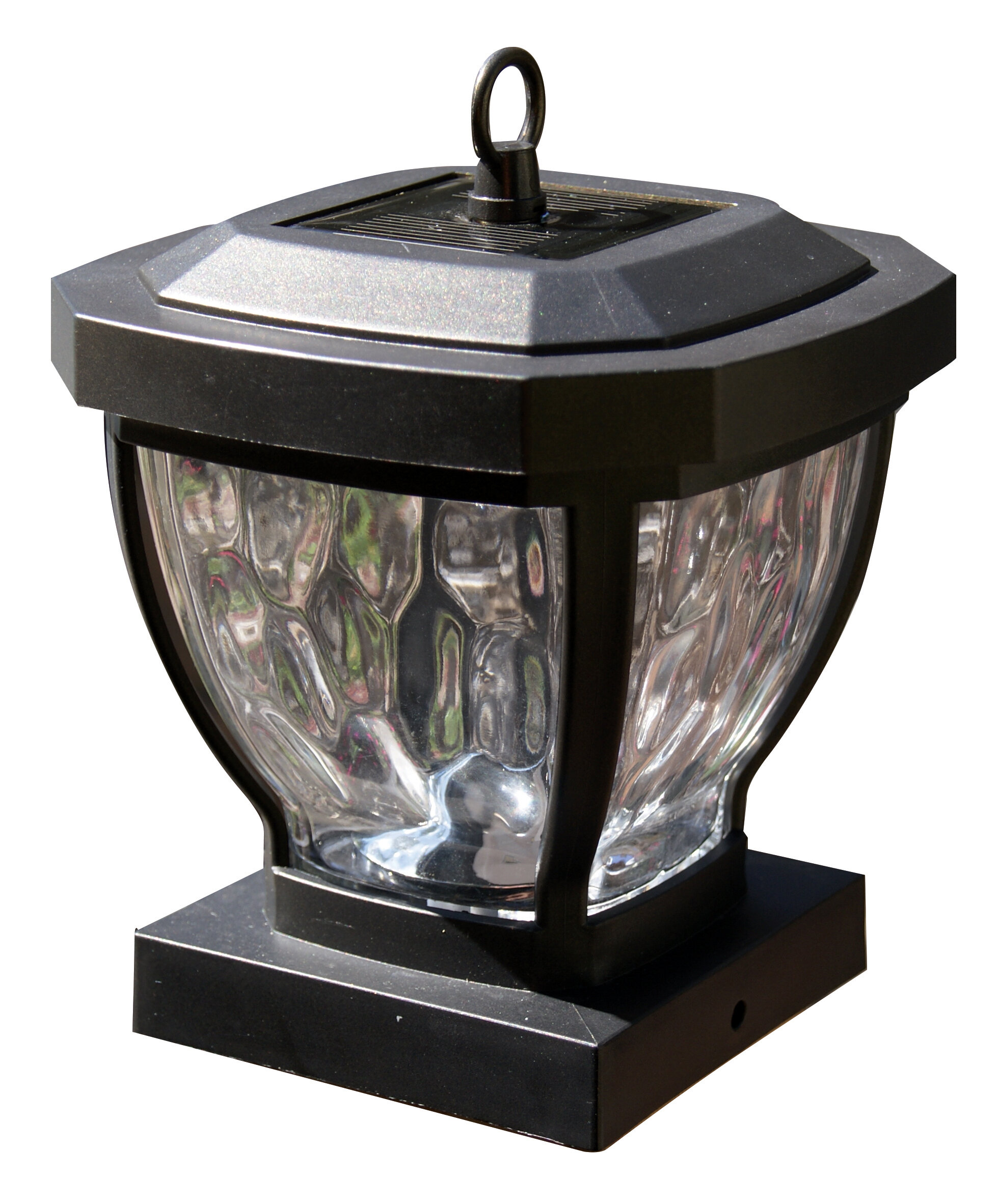 Cly Caps 1-Light Fence Post Cap & Reviews | Wayfair Fence Lighting Ideas String Html on interior string lighting ideas, patio string lighting ideas, pergola string lighting ideas, backyard string lighting ideas, garden string lighting ideas, deck string lighting ideas, porch string lighting ideas,