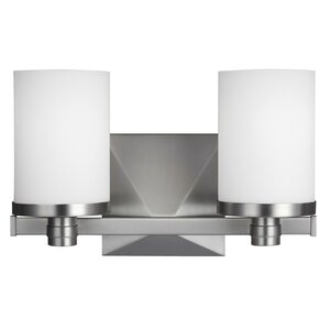 Janelle 2-Light Bath Vanity Light